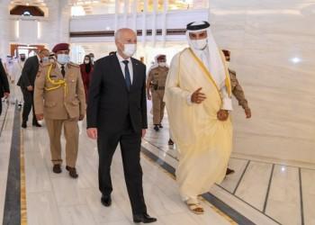 الرئيس التونسي ينهي زيارة لقطر واتفاق على أهمية التسوية في ليبيا