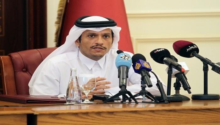 قطر: نتواصل مع إسرائيلفي أمور متعلقة بالفلسطينيين.. ونرفض التطبيع