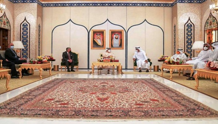 في القمة المفاجئة.. الإمارات والبحرين والأردن تعتبر حل الدولتين أساس السلام