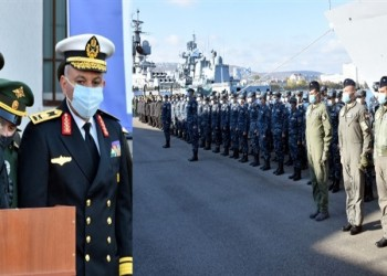 الجيش المصري يعلن انطلاق تدريب مشترك مع روسيا بالبحر الأسود (فيديو)