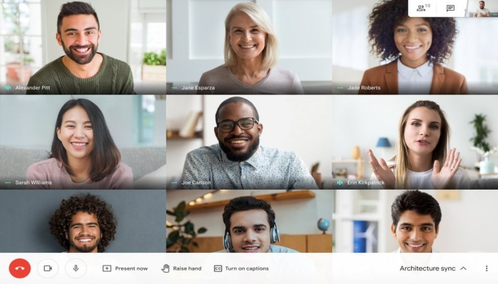 Google Meet تضيف خاصية رفع الأيدي لاجتماعات الفيديو