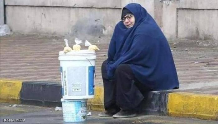 سيدة المطر.. مصرية تشعل مواقع التواصل والسلطات تتدخل