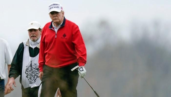ترامب يتحدث بقمة العشرين عن عمله المذهل.. وينسحب للعب الجولف