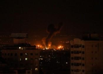 بعد صاروخ عسقلان.. غارات إسرائيلية على أهداف في غزة