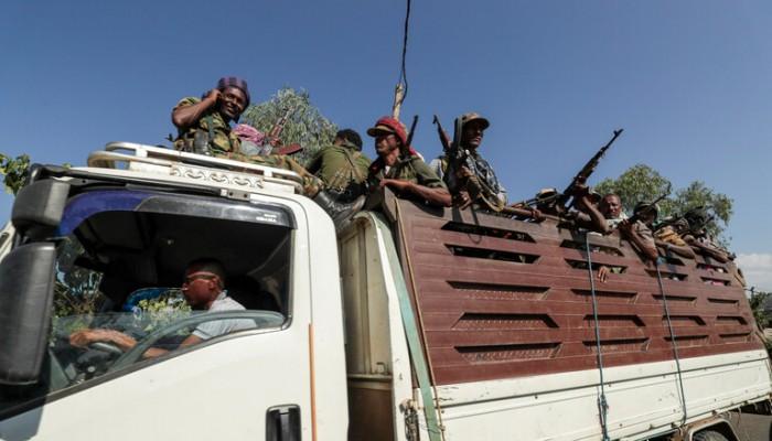 الجيش الإثيوبي يستخدم الدبابات والمدفعية لاستعادة عاصمة تيجراي