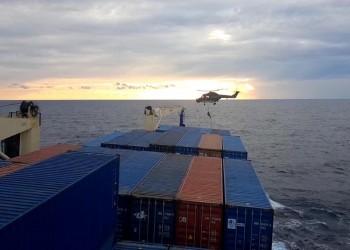 إيريني تقر بعدم الحصول على إذن تركيا لتفتيش سفينتها التجارية
