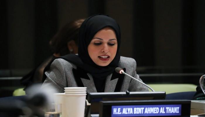 قطر تدعو إلى إدانة التدابير القسرية غير الشرعية لدول الحصار