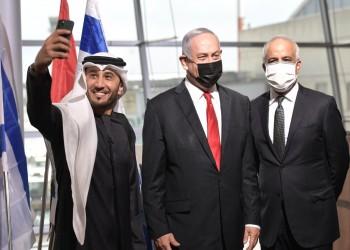 نتنياهو مستقبلا أول رحلة تجارية من دبي لتل أبيب: يستحيل إيقاف التطبيع