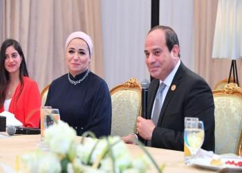 في أول ظهور لها.. انتصار السيسي تثير سخرية المصريين