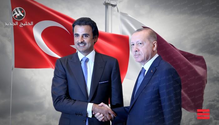 تميم وأردوغان يوقعان صفقات استثمارية وعسكرية واسعة