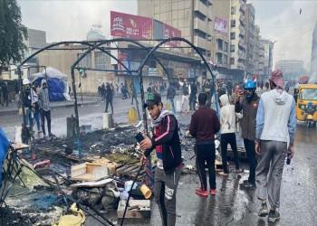 مقتل شخص وإصابة 35 في مواجهات بين أنصار الصدر ومتظاهرين جنوبي العراق