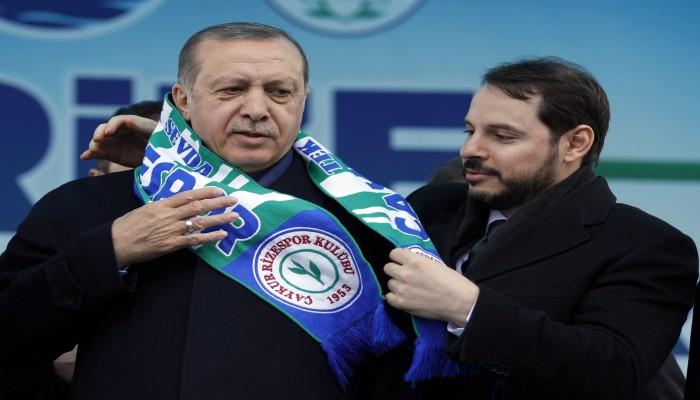 أردوغان يقبل استقالة صهره من صندوق الثروة السيادي