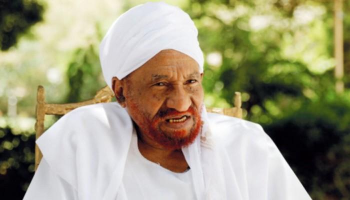 مؤقتا.. فضل الله برمة يخلف المهدي في رئاسة حزب الأمة السوداني