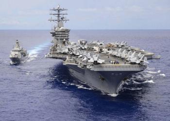 """أمريكا: لا علاقة بنشر حاملة الطائرات """"نيميتز"""" بالخليج  بالتهديدات الإيرانية"""
