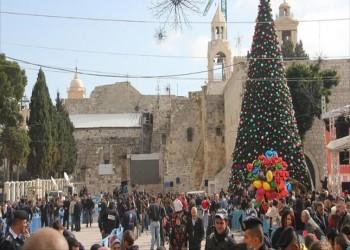 دون حشود.. بدء احتفالات عيد الميلاد في بيت لحم