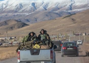نقل جثث أكثر من 400 عسكري أرميني من قرى قره باغ