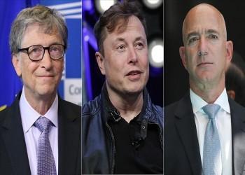 أباطرة التكنولوجيا.. 7 من بين أكثر 10 أغنياء بالعالم