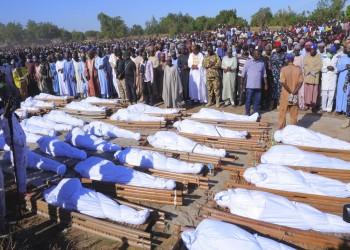 عدد ضحايا مذبحة نيجيريا يرتفع إلى 110 قتلى ومئات المصابين