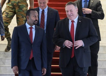 بومبيو يدعو آبي أحمد لوقف القتال في تيجراي
