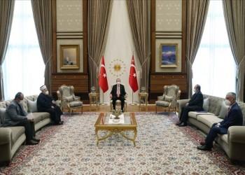 أنقرة.. الرئيس أردوغان يستقبل الشيخ عكرمة صبري