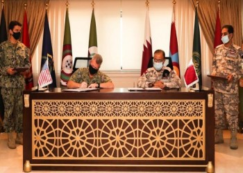 قطر وأمريكا توقعان اتفاقية عسكرية