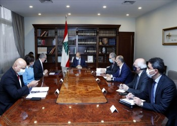 الرئيس اللبناني يرحب بخطة العمل الدولية لإعادة إعمار بيروت