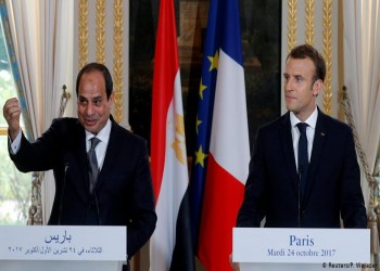 حقوقيون مندهشون لمد السجاد الأحمر للسيسي في فرنسا