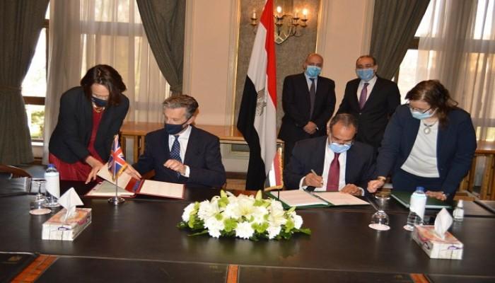 مصر توقع اتفاقية شراكة تجارية مع بريطانيا بعد خروجها من أوروبا