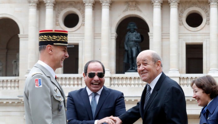 قبل لقاء ماكرون.. السيسي: نتطلع لتدعيم الشراكة الاستراتيجية مع فرنسا