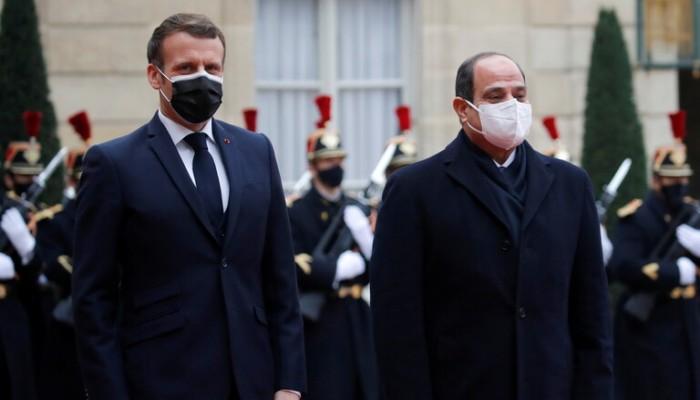ماكرون: ناقشت حقوق الإنسان بمصر.. والسيسي: تتحدثون معنا وكأننا مستبدون