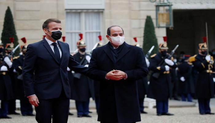 السيسي يبتز فرنسيا سأل عن السجناء السياسيين: نحميكم من الإخوان