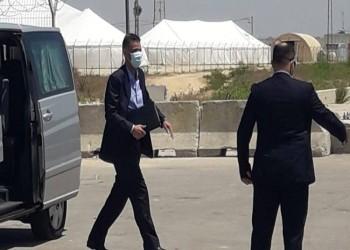 وفد أمني مصري يجري مباحثات مع حماس في غزة