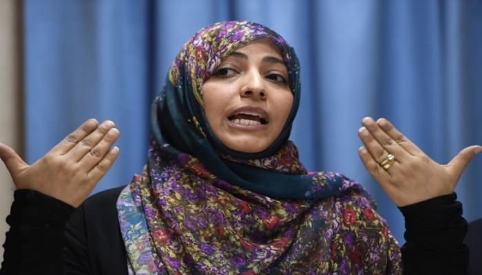 توكل كرمان: المصالحة الخليجية تؤكد أن مواقفي ليست إملاء من أحد