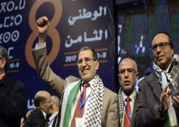 مجددا دعمه للقضية الفلسطينية.. العدالة والتنمية المغربي يؤيد قرارات الملك للتطبيع