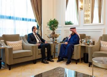 وزير الخارجية القطري يبحث مع رئيس ائتلاف قوى الثورة تطورات الشأن السوري