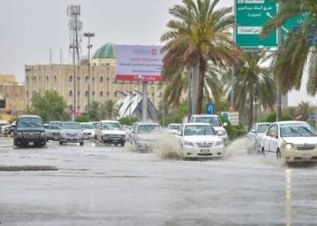 توقعات بأمطار غزيرة على عدد من مناطق السعودية
