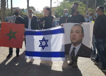بلدة إسرائيلية تحتفل بتدشين علاقات تطبيعية مع المغرب