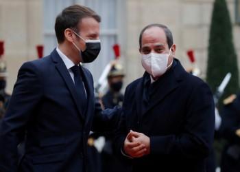 ماكرون حائر بين انتهاكات السيسي ومصالح فرنسا