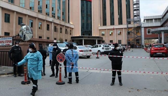 مصرع 8 من مرضى كورونا جراء حريق في مستشفى تركي