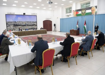 السلطة الفلسطينية تعلن إعادة العلاقات مع أمريكا بشرط