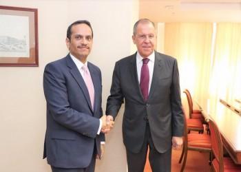 وزير خارجية قطر يزور روسيا لبحث قضايا سوريا وليبيا وفلسطين