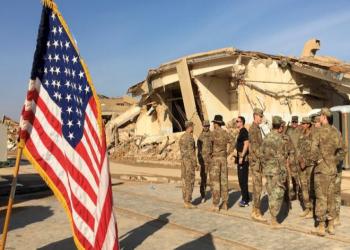 وثيقة تتوقع ضرب القاعدة الأمريكية في مطار بغداد الدولي