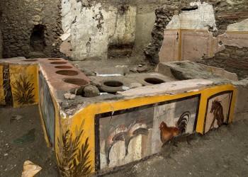 اكتشاف مطعم أثري في بومبي الإيطالية به أطعمة تعود لنحو 2000 عام