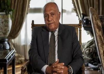 عقب زيارة نادرة لإحياء العلاقات.. شكري يهاتف وزير خارجية الوفاق الليبية