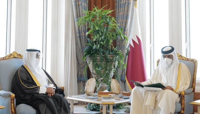 رسميا.. الملك سلمان يدعو أمير قطر للمشاركة بالقمة الخليجية