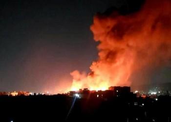 بعد مجزرة مطار عدن.. غارات عنيفة للتحالف العربي على صنعاء