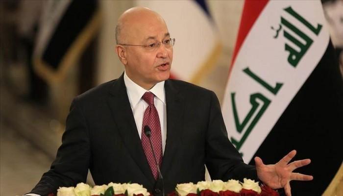 الرئيس العراقي يقر بإخفاق نظام الحكم وتفشي الفساد