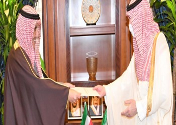 قبل قمة الخليج.. رسالة خطية من أمير الكويت للعاهل السعودي