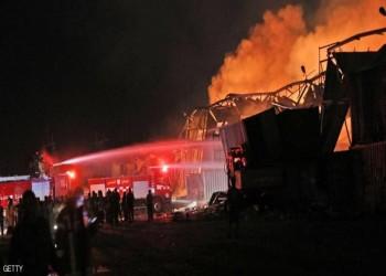 10 جرحى في انفجار مستودع غاز قرب حدود لبنان وسوريا