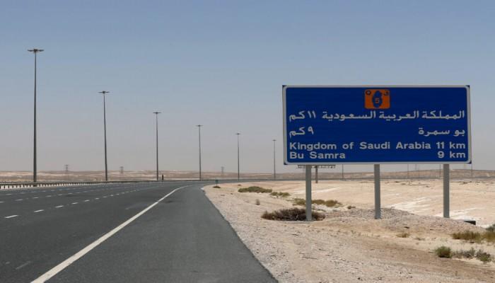 فرحة العوائل المشتركة.. فيديو لطفل عقب فتح الحدود السعودية القطرية